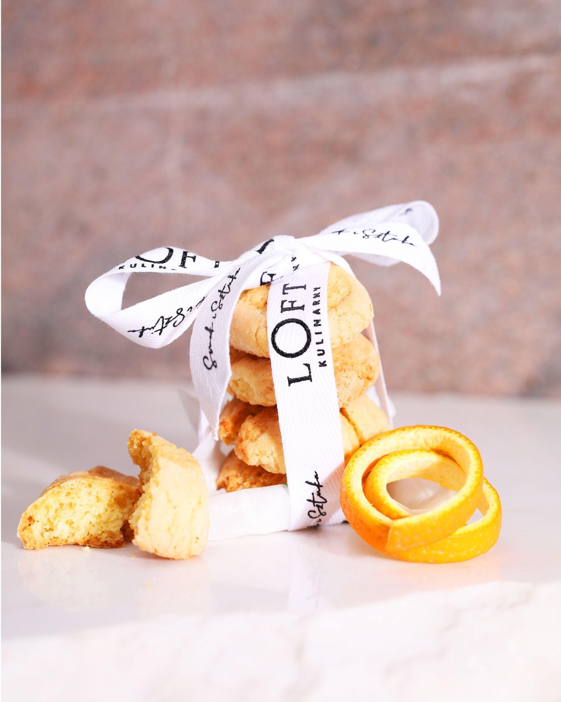 Ciasteczka migdałowo – pomarańczowe