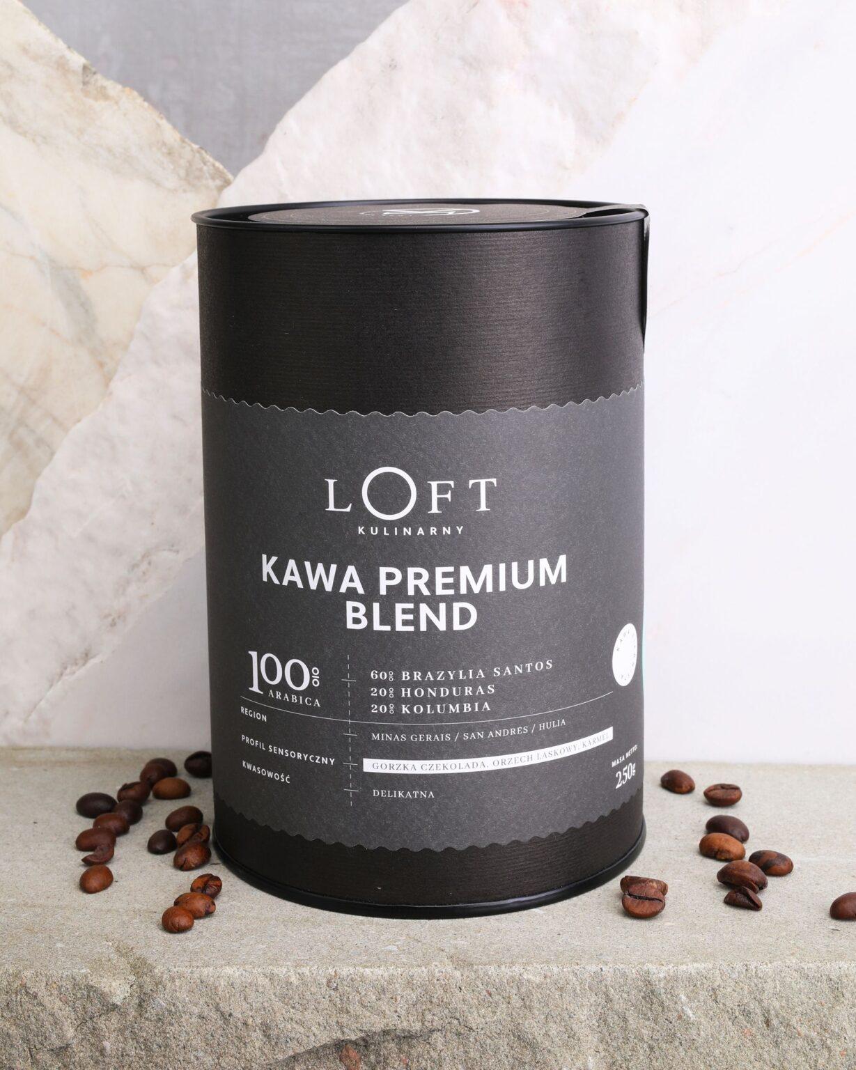 kawa ziarnista Premium Blend - najlepsza kawa do ekspresu
