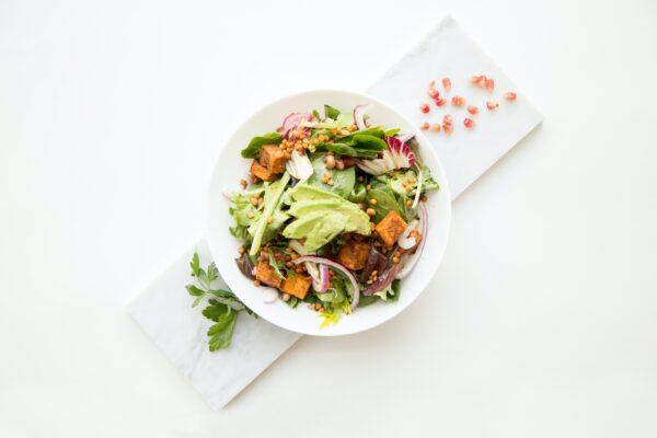 Kreatywne sałatki warzywne