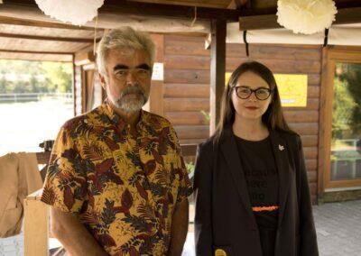 Prowadzący wykład: Marek Bogusz i Diana Dyba-(Loft-Kulinarny)