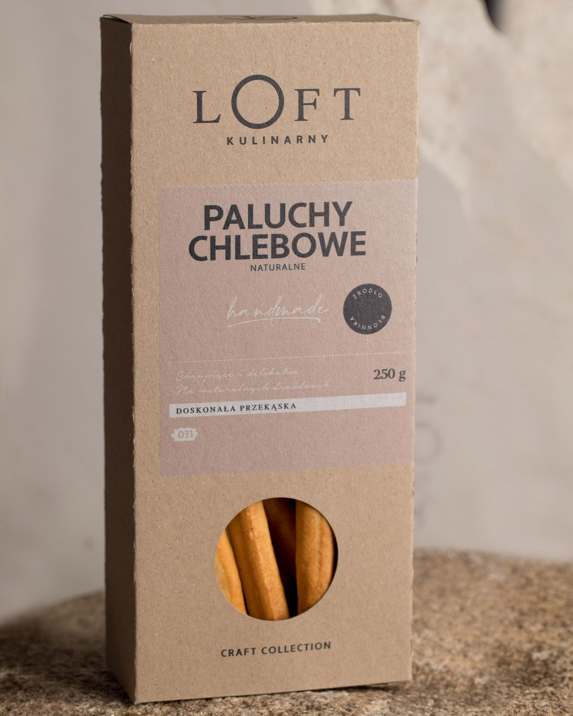 Paluchy chlebowe naturalne